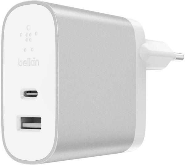 Belkin 2-Port Netzladegerät 39W USB-C 27W PD und USB-A 12W
