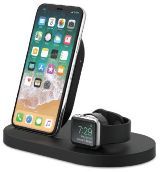 Belkin 7,5W Wireless Charging Dock iPhone und Apple Watch, blk