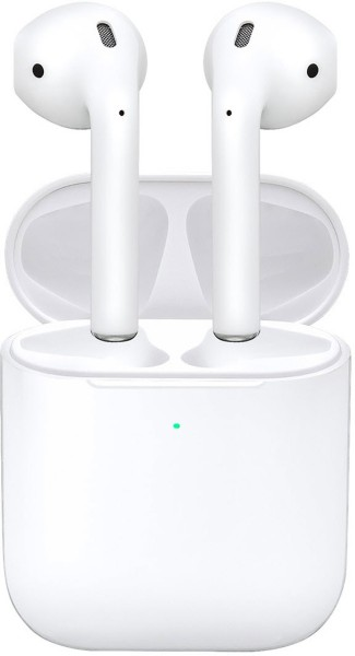 Apple AirPods (2.Generation) inkl. Kabelloses Ladecase, weiß