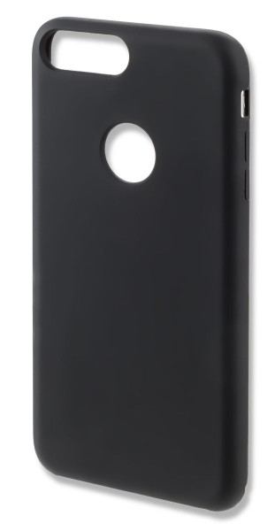 4smarts CUPERTINO Silicone Case für iPhone 7/8 Plus schwarz