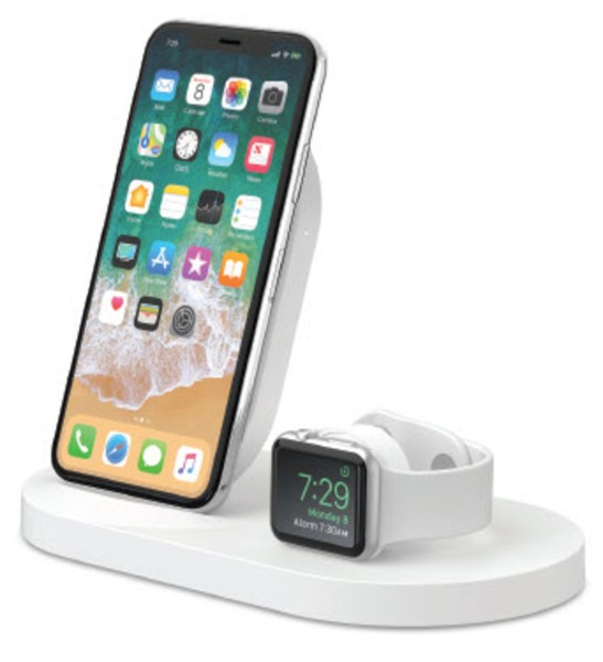 Belkin 7,5W Wireless Charging Dock iPhone und Apple Watch, wht